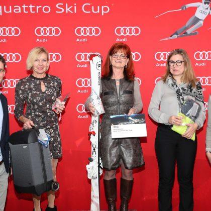 1. Platz beim Audi quattro Ski Cup