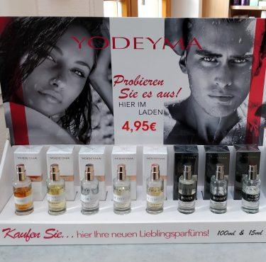 Große Parfumauswahl bei Haarmode-Karl